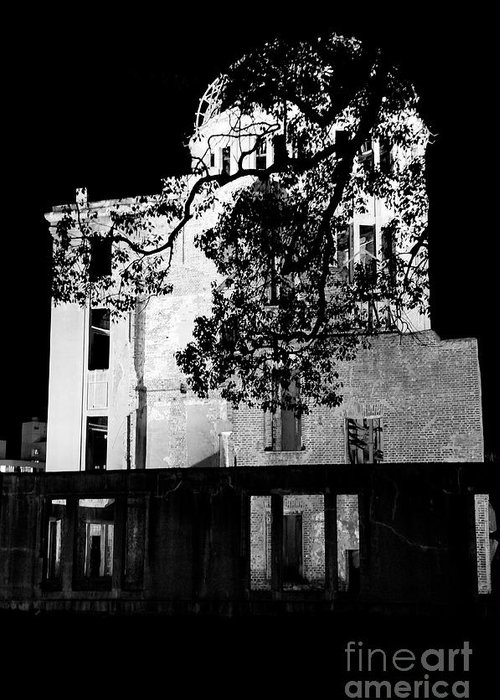 A-bomb Greeting Card featuring the photograph A-bomb Dome by Dean Harte