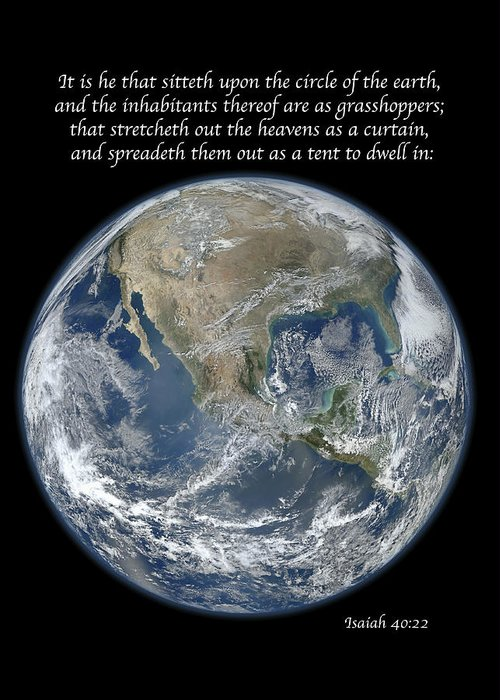 Earth Greeting Card featuring the photograph A Higher View by Michael Peychich