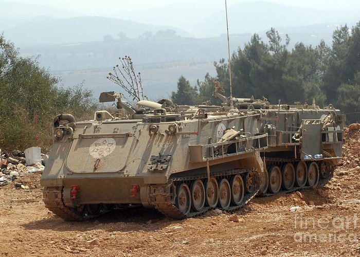 A M113 Armored Personnel Carrier Greeting Card For Sale By Andrew