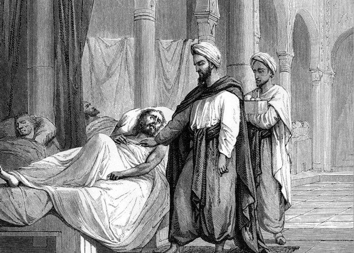 Khalaf Ibn Al-abbas Al-zahrawi Greeting Card featuring the photograph Abulcasis, Islamic Physician by