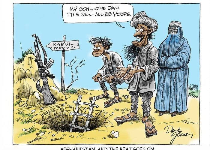 Taliban Greeting Cards