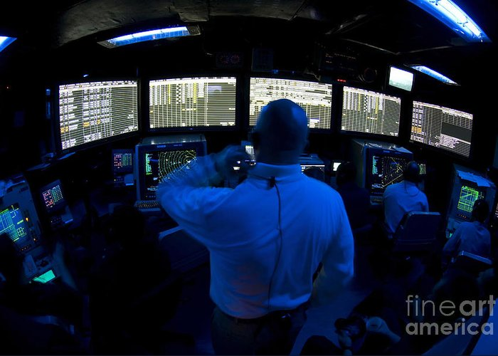 Adults Only Greeting Card featuring the photograph Air Traffic Controller Watches by Stocktrek Images