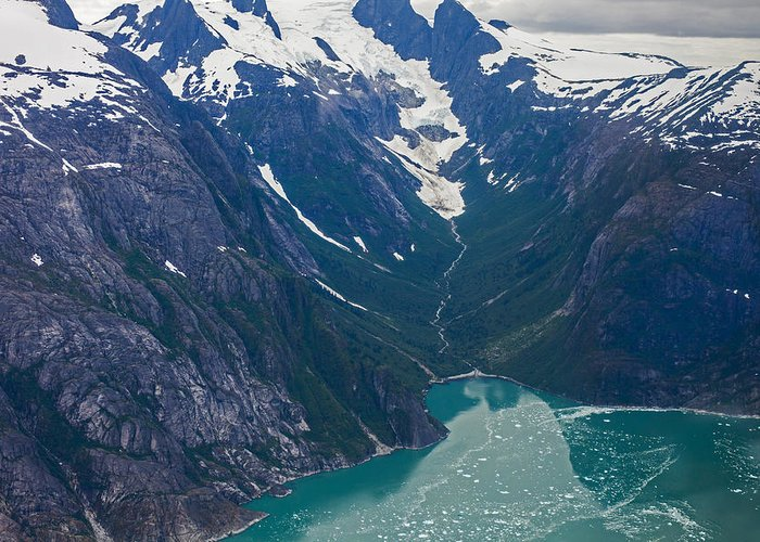Frederick Sound Greeting Card featuring the photograph Alaska Coastal by Mike Reid