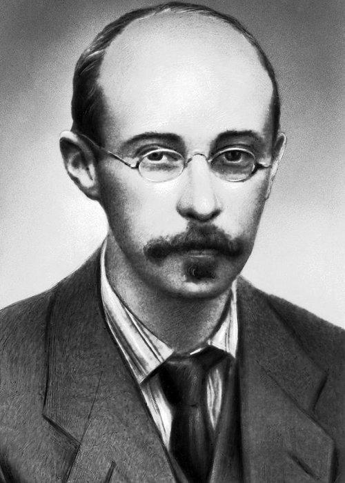 Alexander Friedman Greeting Card featuring the photograph Alexander Friedman, Soviet Cosmologist by Ria Novosti