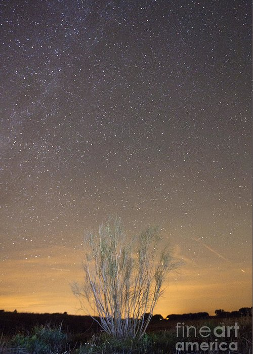 Dark Greeting Card featuring the photograph Alqueva Dark Sky Reserve by Andre Goncalves