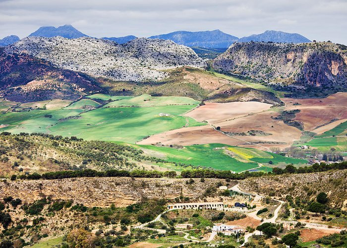 Andalucia Greeting Card featuring the photograph Andalucia Countryside by Artur Bogacki