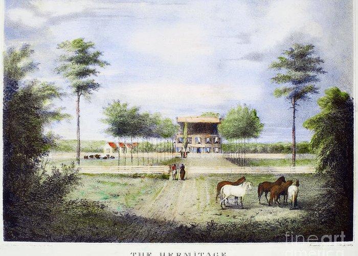 Hermitage Plantation Greeting Cards