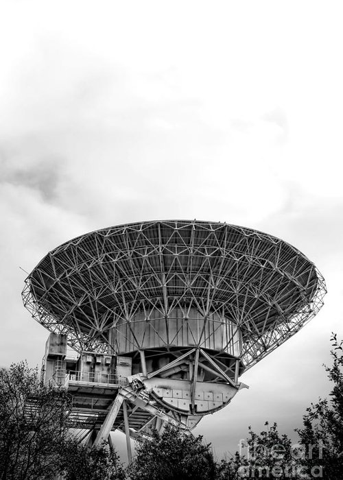 Radio Greeting Card featuring the photograph Antenna  by Olivier Le Queinec