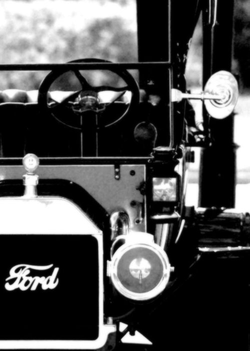 Ford Greeting Card featuring the photograph Antique Ford by Floyd Menezes