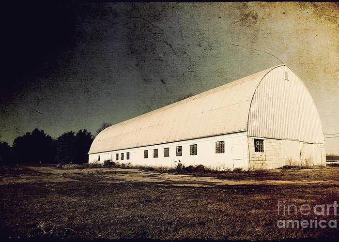Barn Greeting Card featuring the photograph Appleton Barn by Joel Witmeyer