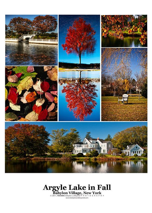 Argyle Lake Greeting Card featuring the photograph Argyle Lake Fall Poster by Vicki Jauron