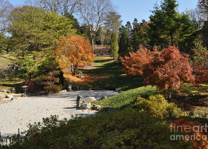 Cheekwood Gardens Greeting Card featuring the photograph Art In The Gardens by Denise Ellis
