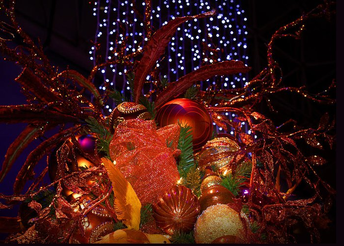 Holidays Greeting Card featuring the photograph Art Of The Holidays by Milena Ilieva