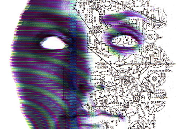 Head Greeting Card featuring the photograph Artificial Intelligence by Neal Grundy