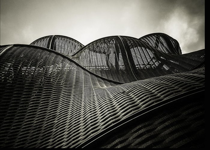 Architecture Greeting Card featuring the photograph Artistic Curves by Lenny Carter