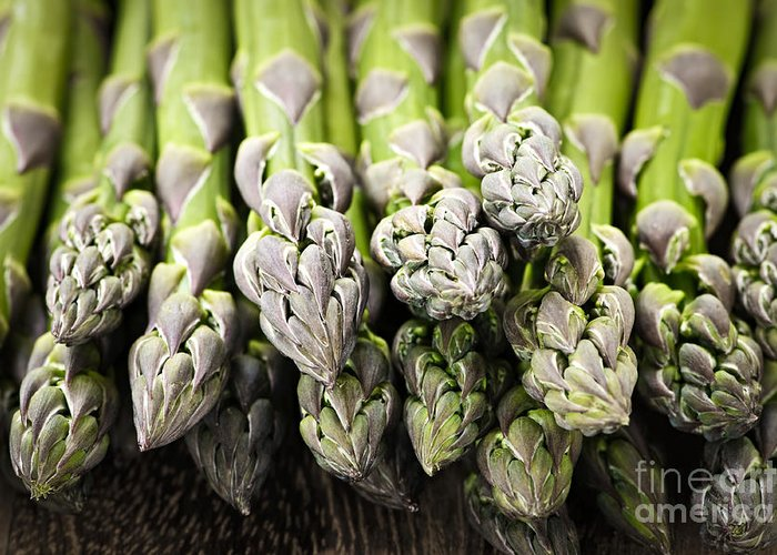 Asparagus Greeting Card featuring the photograph Asparagus by Elena Elisseeva