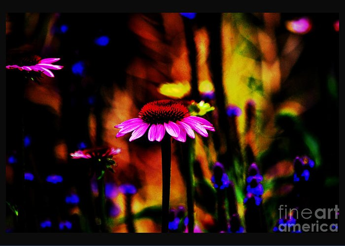 Botanical Portrait Greeting Card featuring the photograph Astral Dream by Susanne Still