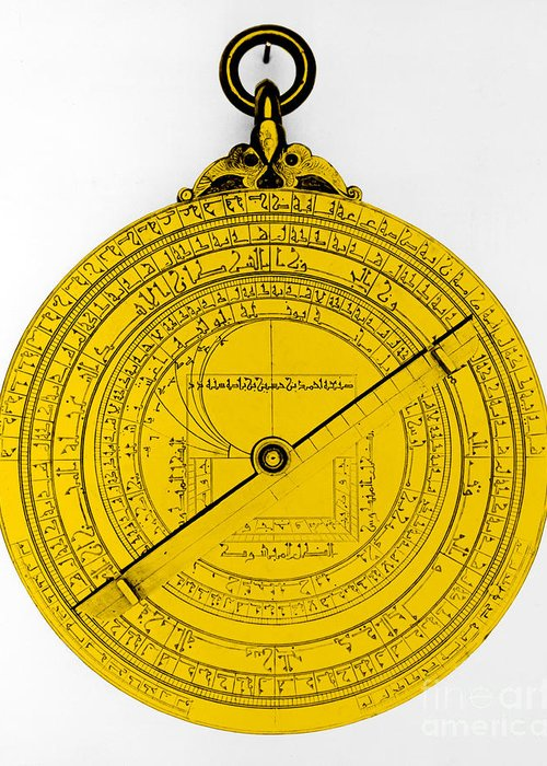 Color Greeting Card featuring the photograph Astrolabe by Omikron