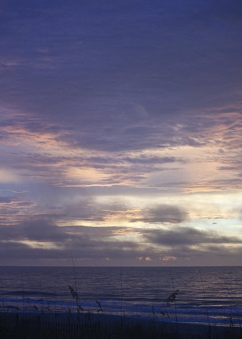 Sunrise Greeting Card featuring the photograph Atlantic Ocean Sunrise 2 by Teresa Mucha