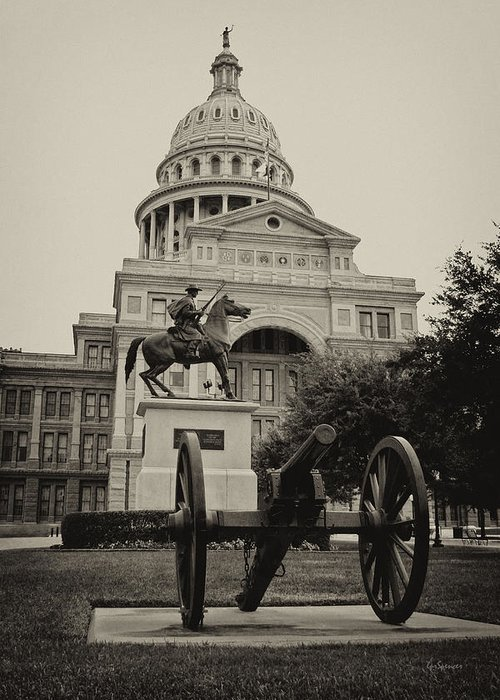 Capitol Of Austin Greeting Card featuring the photograph Austin Capitol by Lisa Spencer