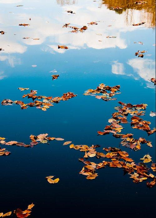 Autumn Greeting Card featuring the photograph Autumn - 3 by Okan YILMAZ