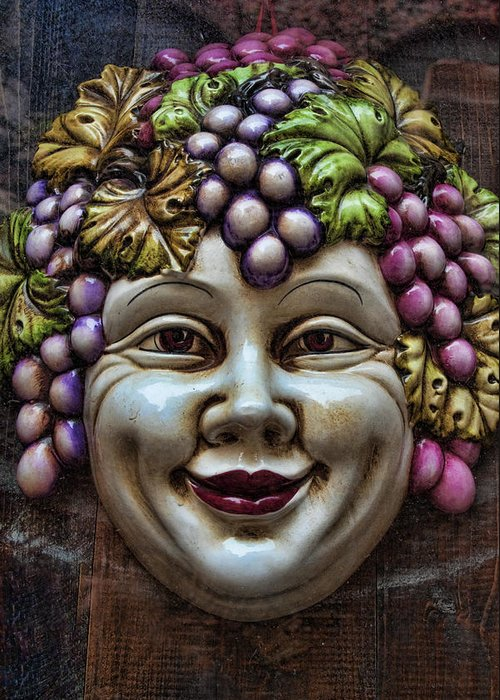 Bacchus Greeting Card featuring the photograph Bacchus God Of Wine by David Smith