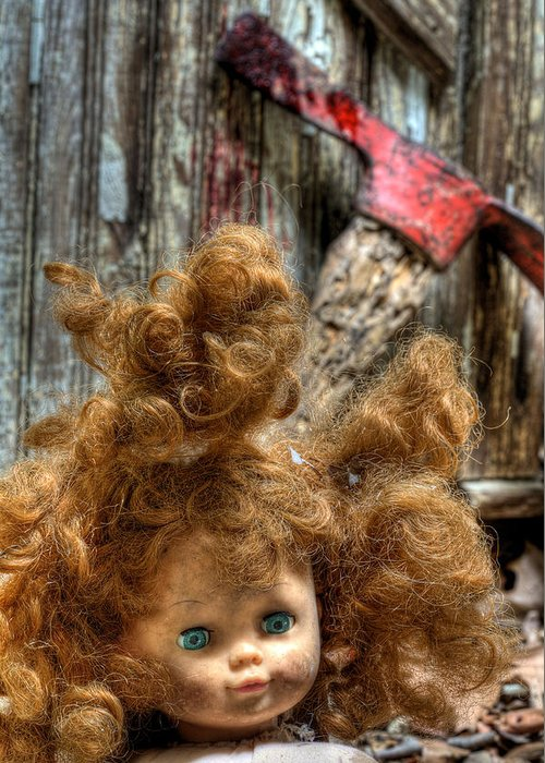 Bad Hair Day Greeting Card featuring the photograph Bad Hair Day by JC Findley