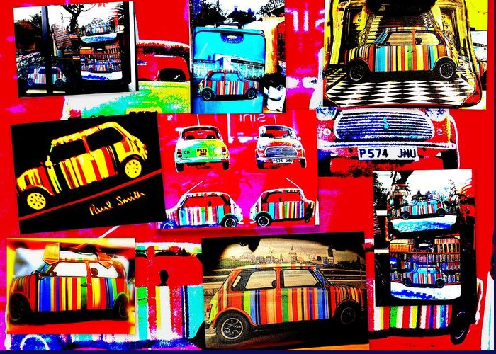 Bali Greeting Card featuring the photograph Bali Paul Smith Fake Minis by Funkpix Photo Hunter