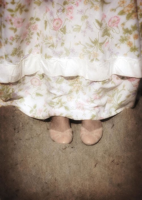 Foot Greeting Card featuring the photograph Ballerinas by Joana Kruse