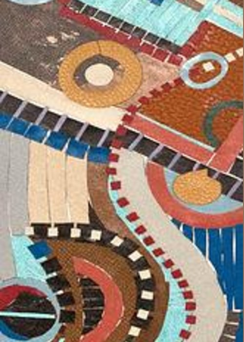 Www.artworkxofmann.com Greeting Card featuring the mixed media Barca by Annette Gardiner