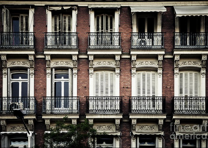 Barcelona Greeting Card featuring the photograph Barcelona Balconies by RicharD Murphy