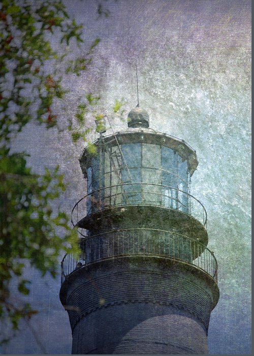 Beacon Greeting Card featuring the photograph Beacon Of Hope by Judy Hall-Folde