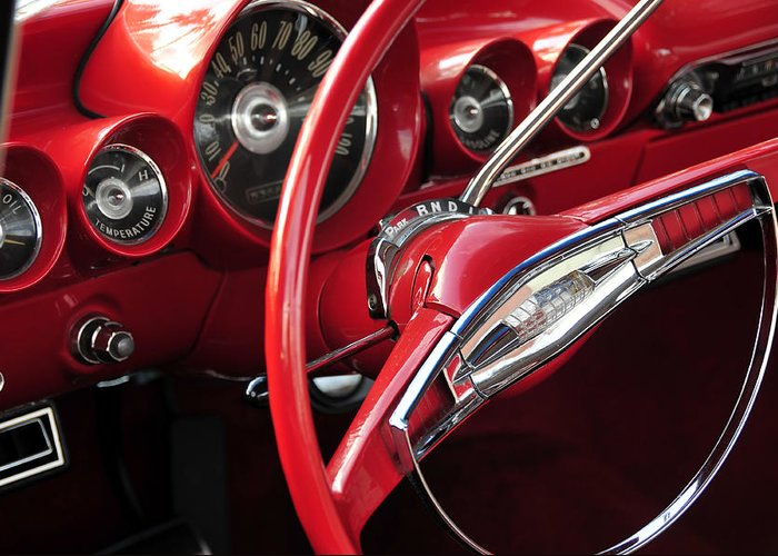 Fine Art Photography Greeting Card featuring the photograph Beautiful Wheels by David Lee Thompson