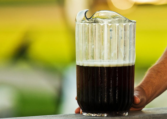 Beer Greeting Card featuring the photograph Beer 30 Somewhere by Edward Peterson