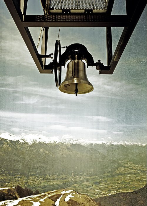 Bell Greeting Card featuring the photograph Bell In Heaven by Joana Kruse