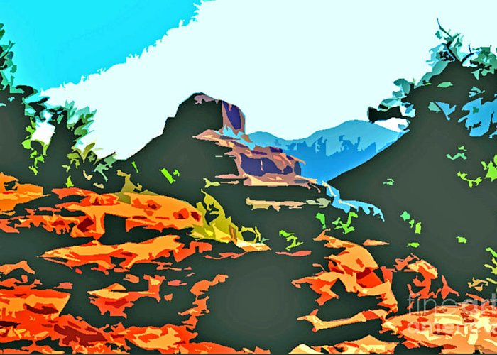 Bell Rock Greeting Card featuring the photograph Bell Rock Sedona Arizona by Jerome Stumphauzer