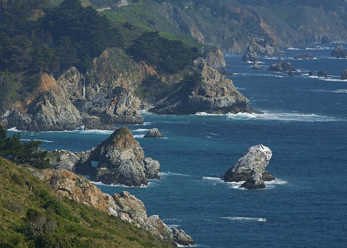 Big Greeting Card featuring the photograph Big Sur Coast by Gregory Scott