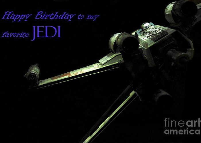 Star Wars Greeting Card featuring the photograph Birthday Card by Micah May