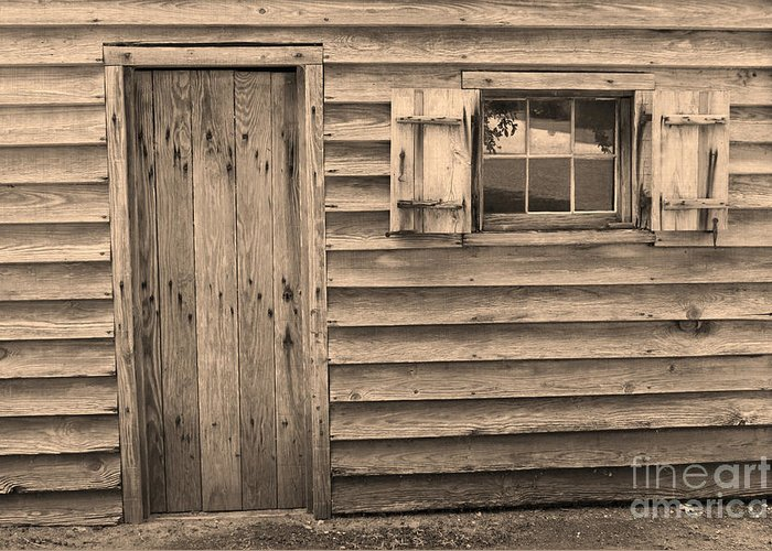 Blacksmith Shop Greeting Card featuring the photograph Blacksmith Shop by Suzanne Gaff