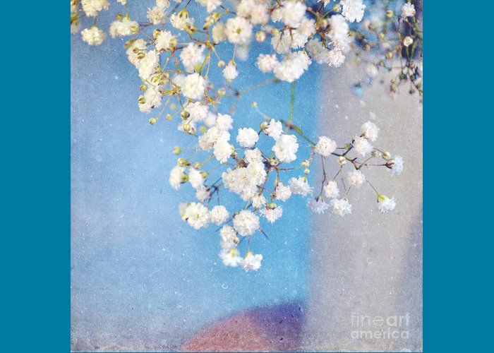 Flowers Greeting Card featuring the photograph Blue Morning by Lyn Randle