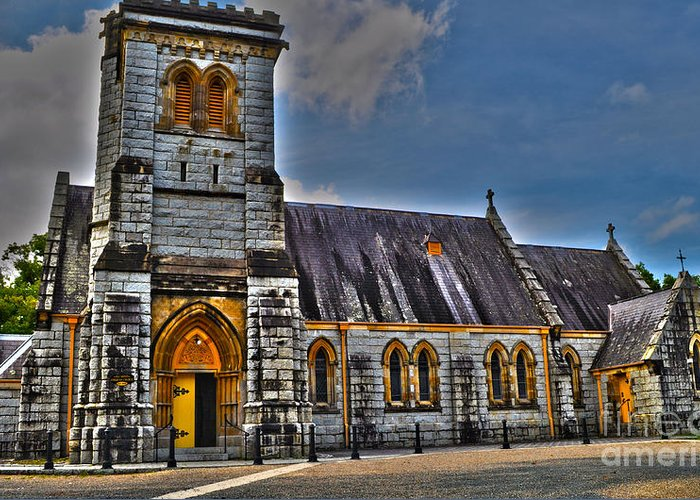 Church Greeting Card featuring the photograph Bodalla All Saints Anglican Church by Joanne Kocwin