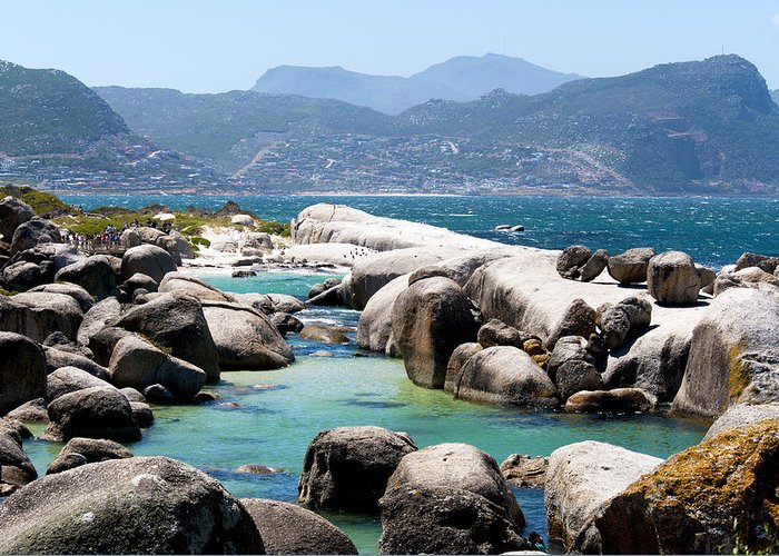 Boulders Greeting Card featuring the photograph Boulders Beach by Fabrizio Troiani