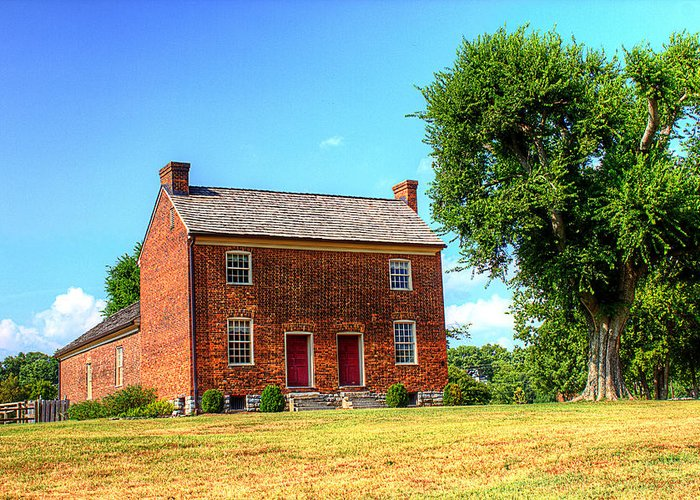 Historical Home Greeting Card featuring the photograph Bowen Plantation House 002 by Barry Jones