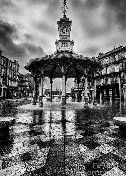 5dmkii Greeting Card featuring the photograph Bridgeton Cross Bandstand Glasgow by John Farnan