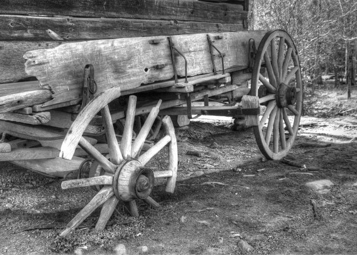 Cades Cove Greeting Card featuring the photograph Broken Past by Greg and Chrystal Mimbs