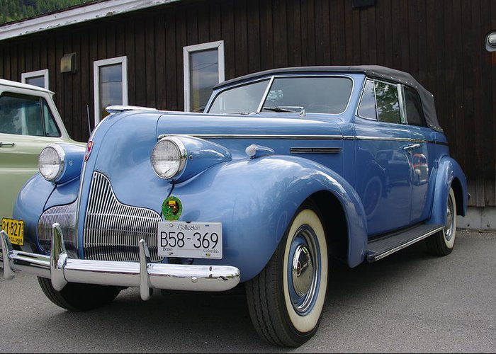Buick Greeting Card featuring the photograph Buick by John Greaves