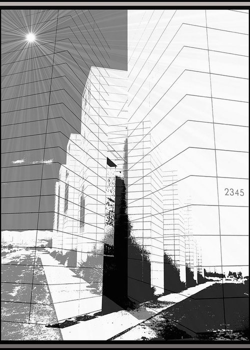 Buildings Greeting Card featuring the photograph Building Blocks by Glenn McCarthy Art and Photography