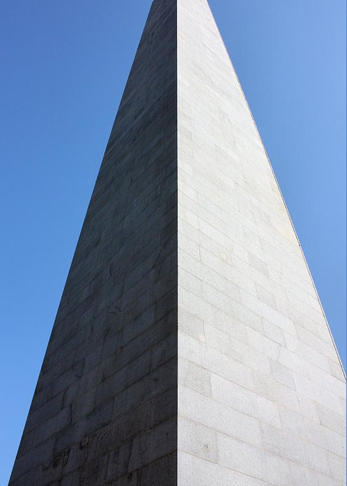 Bunker Hill Greeting Card featuring the photograph Bunker Hill Monument by Kristin Elmquist
