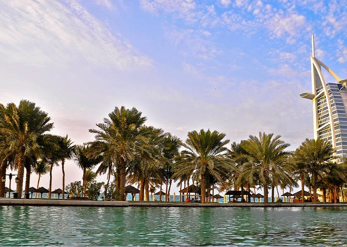 Burj Greeting Card featuring the pyrography Burj Al Arab Dubai Uae by Anusha Hewage