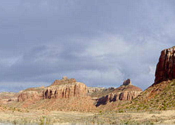 State Route 211 Greeting Card featuring the photograph Buttes At Arches Park by John Appleby